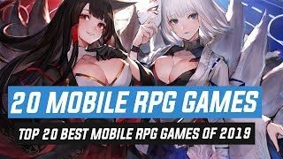 Top 20 Best Moḃile RPG Games of 2019 | Android & iOS