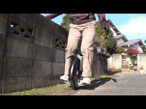 電動一輪車「Airwheel」一日目