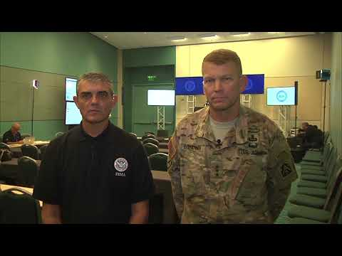 PUERTO RICO: Oct 11. Military & FEMA Media Update With Officials In English & Espanol. (CC)