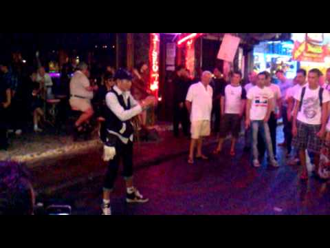 Pattaya - Walking Street Magic Show