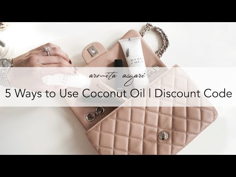 5 Ways to use coconut oil | Coconut oil for skin & hair | Biso Coco | Discount code