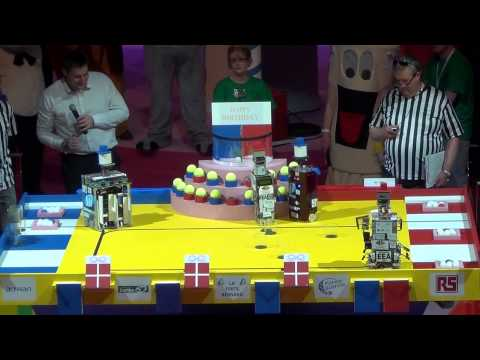 2013 - ESEO Team vs R3EA - Coupe de France de robotique 2013
