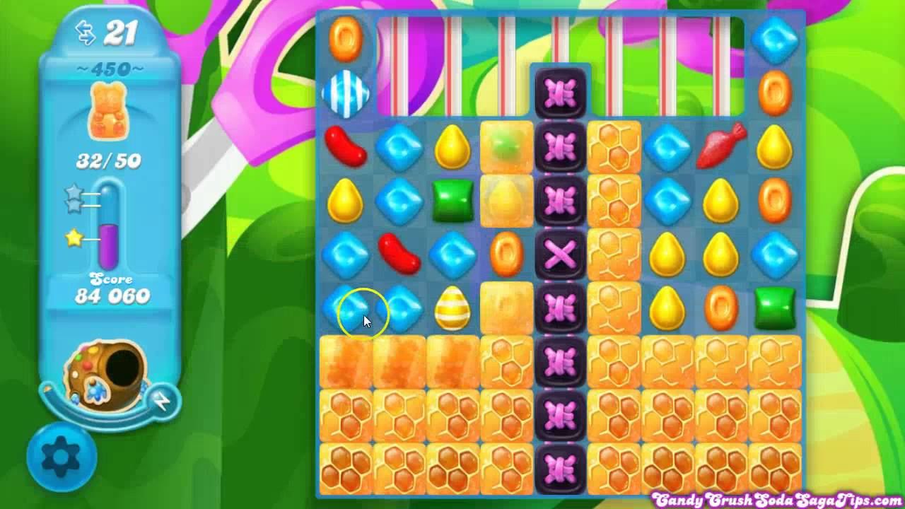 candy crush soda saga と は