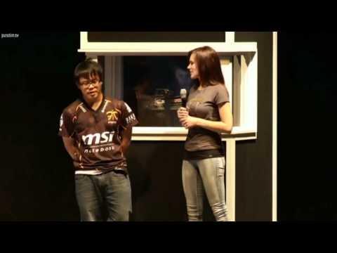 "NASL S1 GF RO8 Yang ""SEn"" Chia Cheng Interviewed by Anna Prosser [HD]"