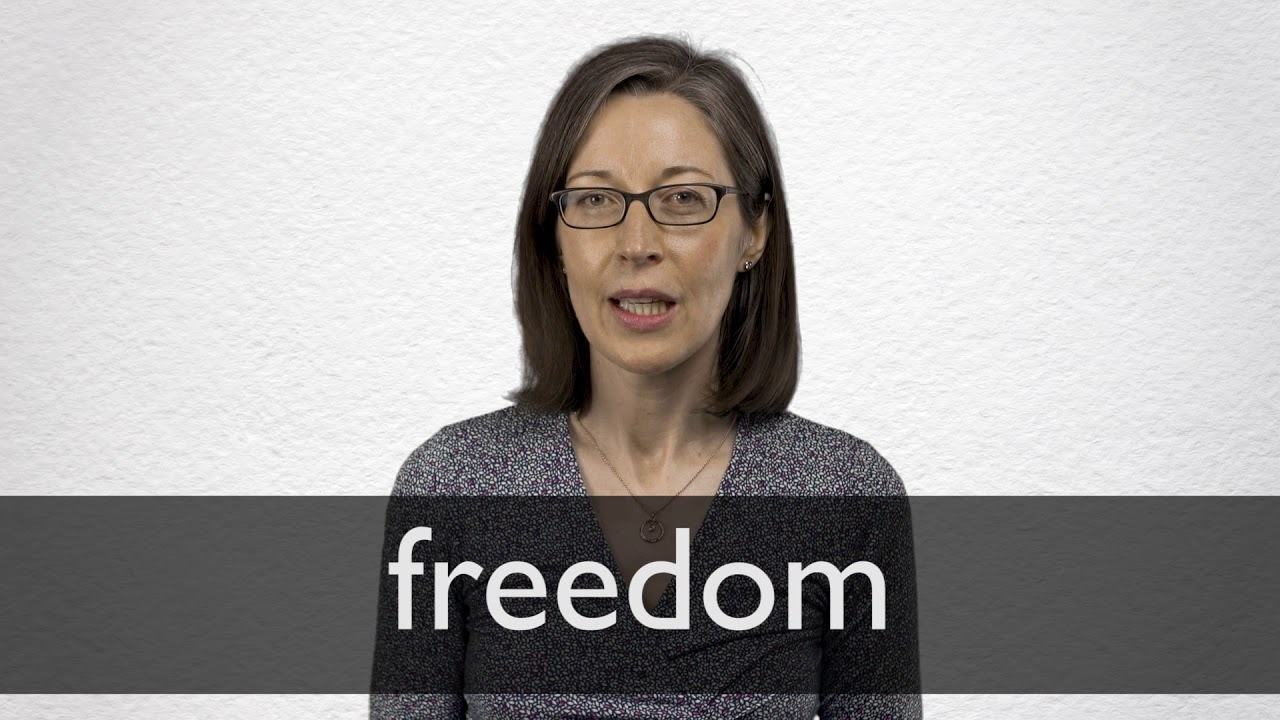 How to pronounce FREEDOM in British English