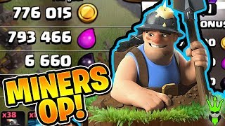 MINERS ARE INSANELY GOOD! - Let's Play TH10 - Clash of Clans - TH10 Miner Farming