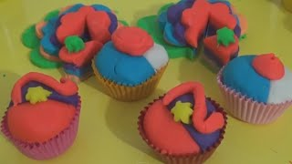 Play Doh Ice Cream Shop & Rainbow Cupcakes