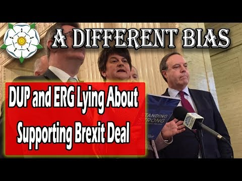 The DUP and ERG Haven't Softened Their Brexit Stance At All