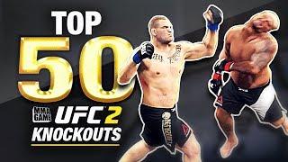 EA SPORTS UFC 2 - TOP 50 UFC 2 KNOCKOUTS - Community KO Video ep. 14