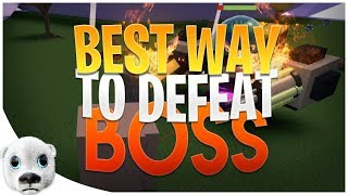 BEST WAY TO DEFEAT BOSS!!! - Build a Boat EASTER UPDATE! 🐰 ROBLOX