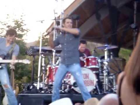 "Easton Corbin ""All Over the Road"" @ Temecula Valley Balloon and Wine Festival on May 31, 2013"