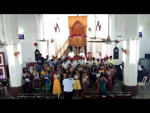 C.S.I. Unity Church, Mulki- Choir (Kannada Hymn 297, M.T. 306)(Choir Sunday, 14-May-2017)