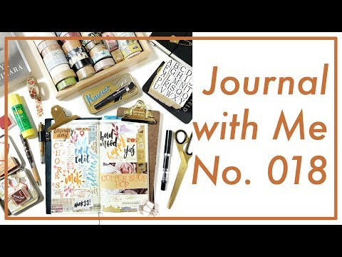 Journal with Me No. 018 | Midori Traveler's Notebook