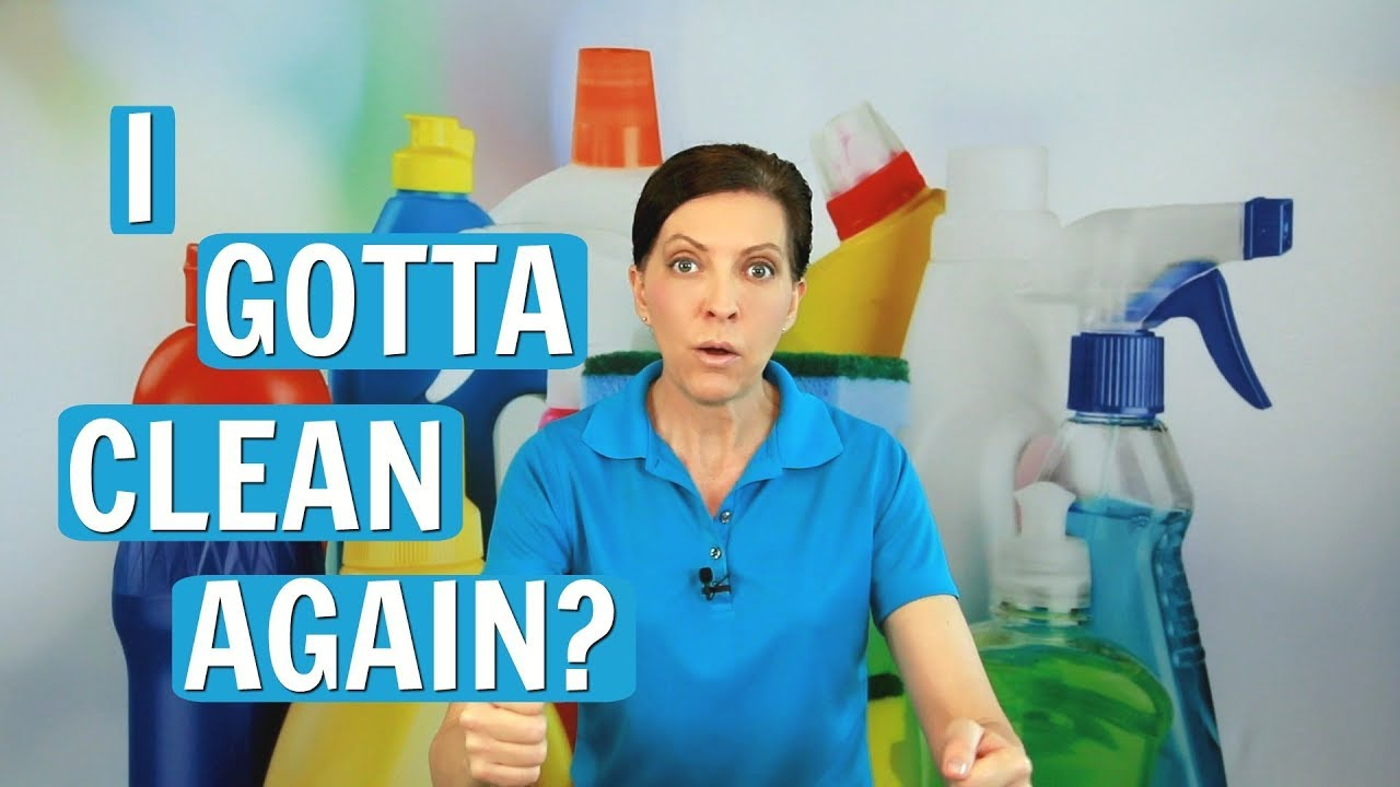 Clean My House how often should i clean my house? diy habit stacking - youtube