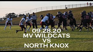 09.28.20 - JV Wildcats vs North Knox Highlights
