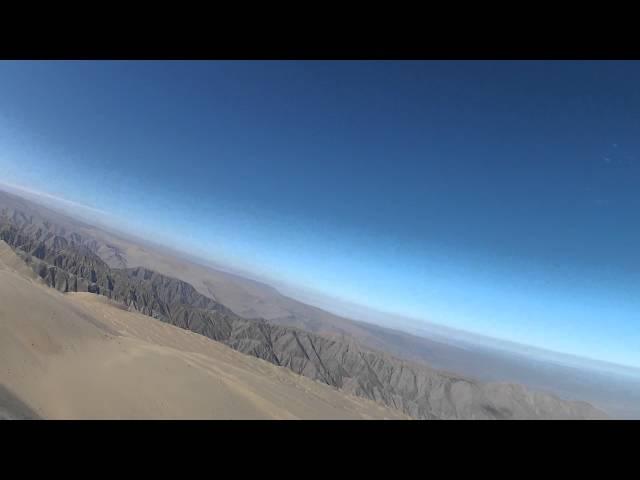 Highest Dune in the world, 2900 Meters reached, Cerro Blanco in Peru