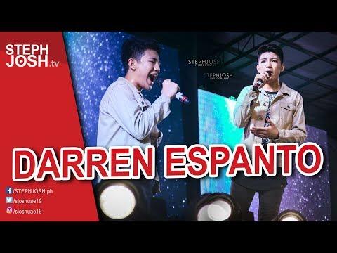 DARREN ESPANTO LIVE @ Santiago City 2017