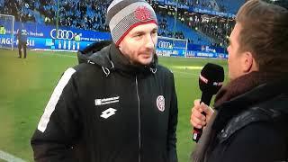 """Sandro Schwarz """"Tor ist genau so breit wie aufm Trainingsplatz"""" Hamburger SV-Mainz, 03.03.2018"""