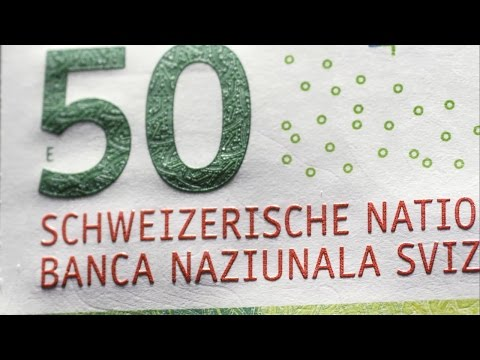 50-Franken-Note - Le billet de 50francs - 50-franc note - Banconota da 50 franchi