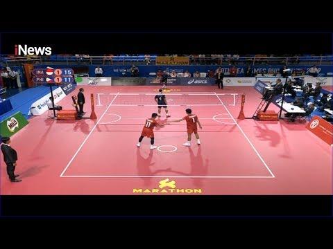 Sepak Takraw Indonesia Vs Filipina - SEA Games 2019