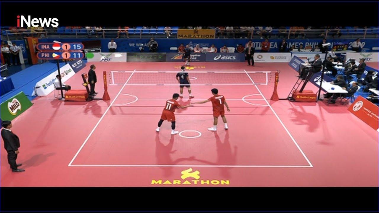 Sepak Takraw Indonesia Vs Filipina Sea Games  Youtube
