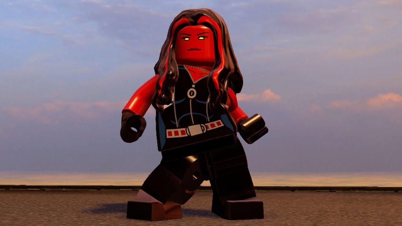 LEGO Marvel's Avengers - Red-She Hulk | Free Roam Gameplay ...