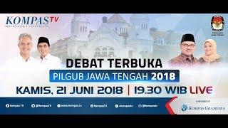 Debat Publik Ketiga Pilgub Jawa Tengah 2018