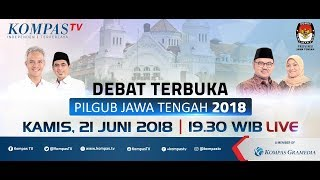 Video Debat Publik Ketiga Pilgub Jawa Tengah 2018 download MP3, 3GP, MP4, WEBM, AVI, FLV Juli 2018