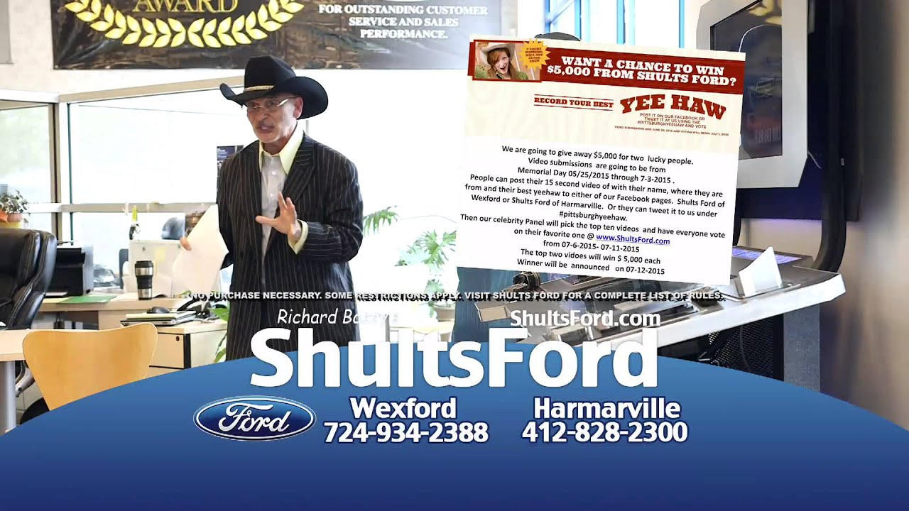 Shults Ford Lincoln Of Wexford And Shults Ford Of Harmarville Yee