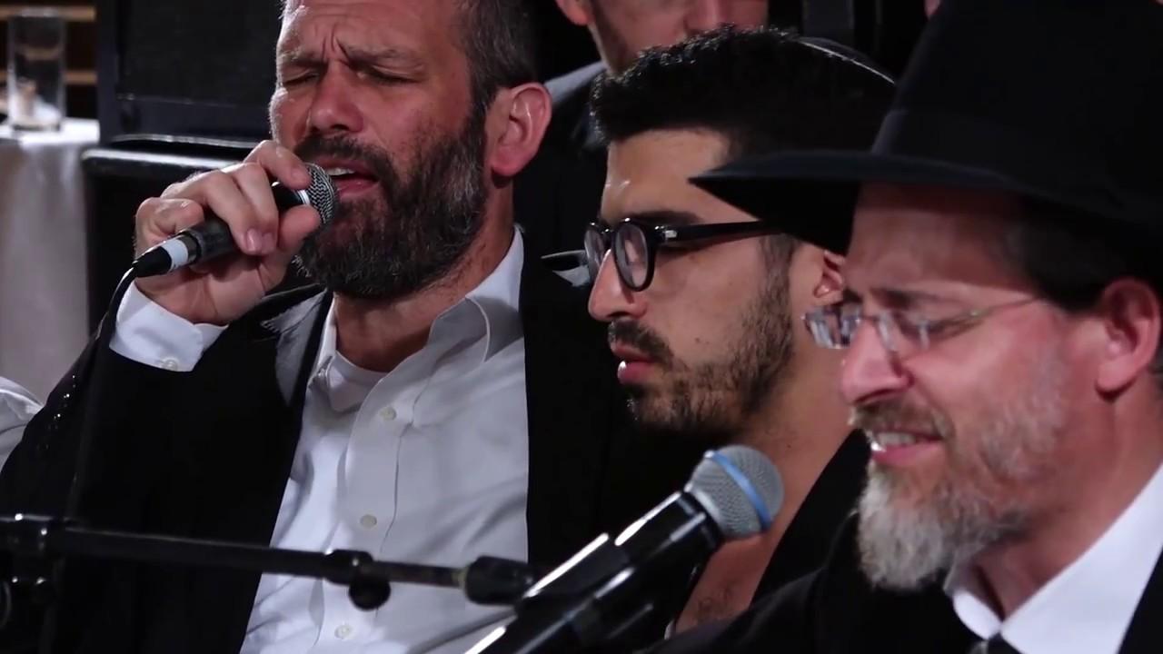 """""""אוחילה"""" הרב הלל פלאי עם יונתן רזאל, אהרן רזאל, חנן בן ארי ויצחק מאיר"""