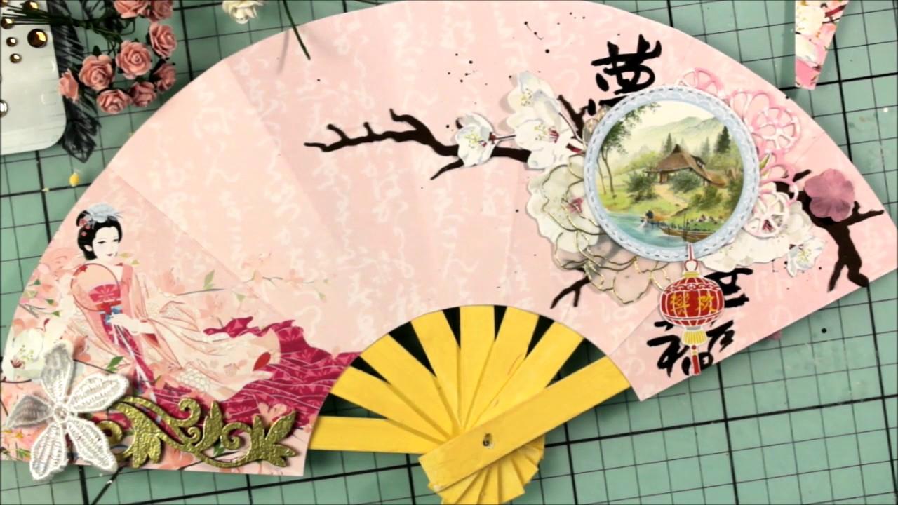 Японские открытки скрапбукинг, день рождения главного