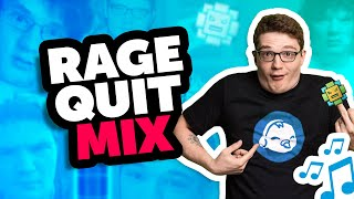 Rooster Teeth Remix - RAGE QUIT MIX - ft. Michael Jones from Achievement Hunter