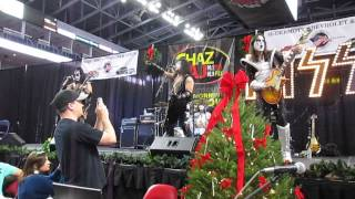 "KISS Alive - cover of ""Detroit Rock City"" - WPLR Toy Drive - December 06, 2013"