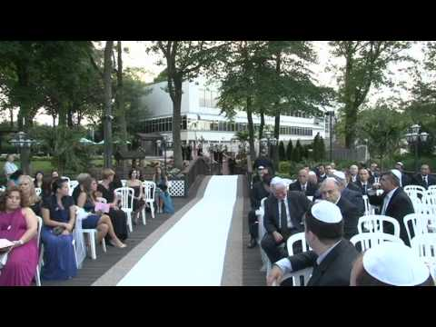 ADELYA & GERARD WEDDING VIDEO PART 1 CHUPPAH YAIR HAMRA