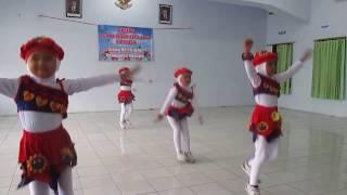 senam ceria anak indonesia juara 2 kab nganjuk jawa timur 2016
