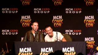 Agents of Shield Panel // MCM London Comic Con May 2015