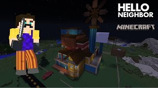 Minecraft Hello Neighbor Alpha 3 Trailer