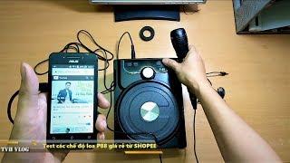 Review Test Chi Tiết Các Chế Độ Loa P88 Bluetooth Ngon Giá Rẻ ở SHOPEE  Văn Hóng