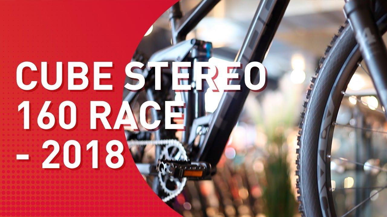 a1344dab166 Cube Stereo 160 Race 27,5 - 2018 - MTB Fully - YouTube