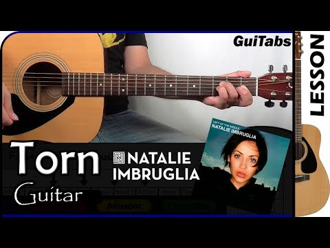 How to play Torn - Natalie Imbruglia 💔 / Guitar Tutorial 🎸
