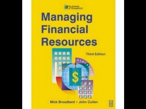 Managing Financial Resources & Decisions Lecture 1