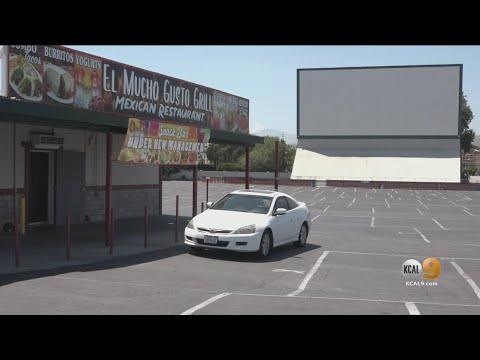Drive-In Movie Theaters Reopen In Riverside With Concessions And Restroom Access