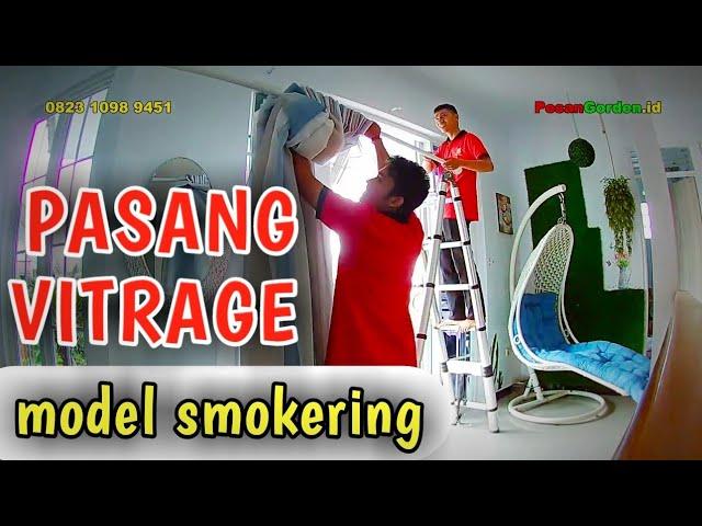 Pasang Vitrage Model Smokering Di Rawa Kuda Cibubur 082310989451 #gudanggorden