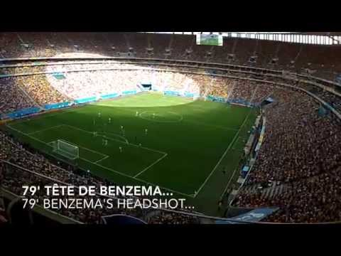 FRANCE - NIGERIA World Cup 14 vu par ses supporters by Steven Freedom