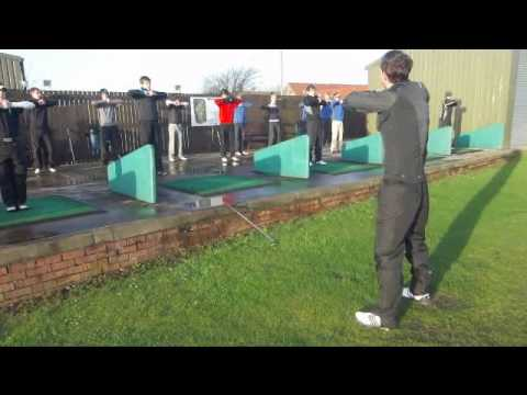 Junior Lothians Golf Warm Up.wmv