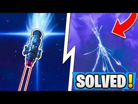 Fortnite ROCKET Launch *SOLVED*!  Time Travel in Season 5!  Blast Off Story Line