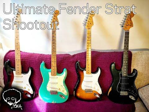 Ultimate Fender Strat Shootout