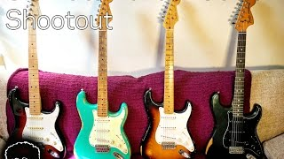 Ultimate Fender Strat Shootout Video
