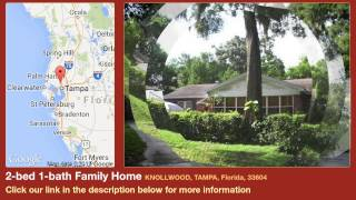 2-bed 1-bath Family Home for Sale in Tampa, Florida on florida-magic.com