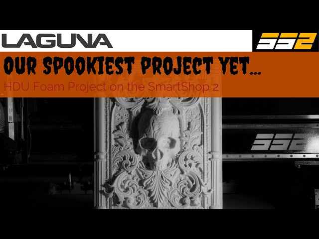Making a Detailed Foam Tombstone With a CNC Router | Laguna Tools